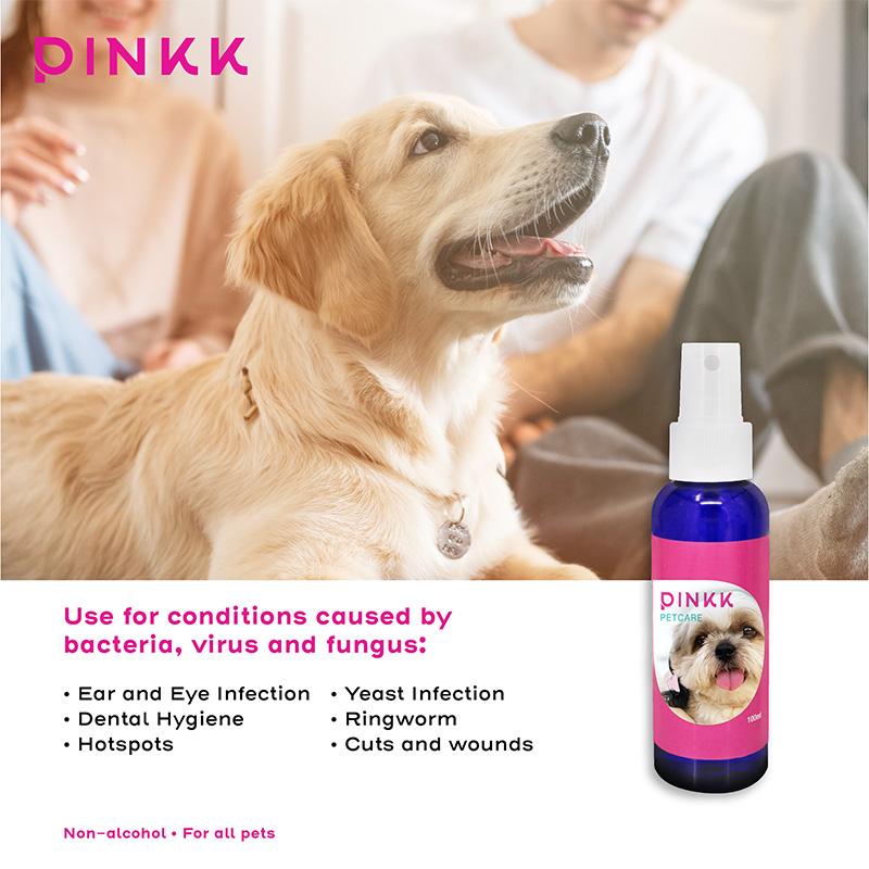 Pinkk PetCare Ionic Silver Spray