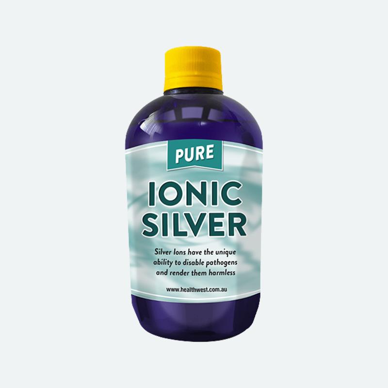 HealthWest Ionic Silver